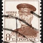 Postage stamp USA 1960 John J. Pershing — Stock Photo