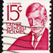 Postage stamp USA 1968 Oliver Wendell Holmes — Stock Photo