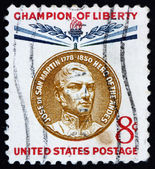 Postage stamp USA 1959 Jose de San Martin — Stock Photo