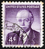 Postage stamp USA 1960 Robert A. Taft — Stock Photo