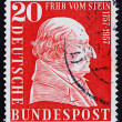 Stock Photo: Postage stamp Germany 1957 Baron vom Stein