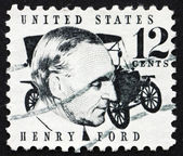 Postage stamp USA 1968 Henry Ford — Stock Photo