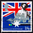 Postage stamp GB 1988 Australian colonist — Stock Photo