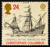 Postage stamp GB 1992 Discovery of America — Stock Photo
