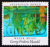 Postage stamp GB 1985 Reflections in Pool — Stock Photo