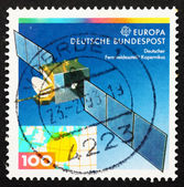 Postage stamp Germany 1991 Copernicus satellite — Stock Photo
