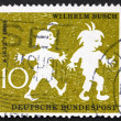 Stock Photo: Postage stamp Germany 1958 Max and Moritz, Wilhelm Busch