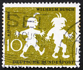 Postage stamp Germany 1958 Max and Moritz, Wilhelm Busch — Stock Photo