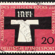 Postage stamp Germany 1959 Holy Coat of Trier — Stok fotoğraf