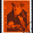 Stock Photo: Postage stamp Germany 1967 Franz von Taxis
