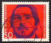 Postage stamp Germany 1970 Friedrich Engels — Stock Photo