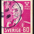 Royalty-Free Stock Photo: Postage stamp Sweden 1943 King Gustaf V