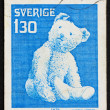 Postage stamp Sweden 1978 Teddy Bear, Toy — Stock Photo #8407129