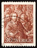 邮票 1961年瑞典卡尔古斯塔夫科迪亚克 — 图库照片