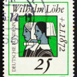 Postage stamp Germany 1972 Deaconesses — Stock Photo