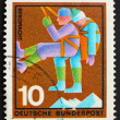 Stock Photo: Postage stamp Germany 1970 Mountain Climber, rescuer