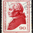 Postage stamp Germany 1974 Immanuel Kant, philosopher — Stock Photo #8437810