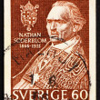 Stock Photo: Postage stamp Sweden 1966 NathSoderblom, Protestant Theologia
