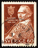 Postage stamp Sweden 1966 Nathan Soderblom, Protestant Theologia — Stock Photo