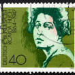 Postage stamp Germany 1975 Ricarda Huch, writer and poet — Stock Photo
