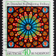 Postage stamp Germany 1978 Rose Window, Freiburg Cathedral — Stock Photo #8467607