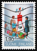 Postage stamp Finland 1989 Salvation Army in Finland — Stock Photo