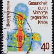 Stock Photo: Postage stamp Germany 1981 Chest scintigram