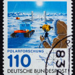 Stock Photo: Postage stamp Germany 1981 Georg von Neumayer polar research sta