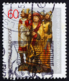 Postage stamp Germany 1981 Altar figures by Tilman Riemenschneid — Stock Photo