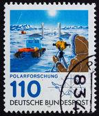 Postage stamp Germany 1981 Georg von Neumayer polar research sta — Stock Photo