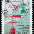 Stock Photo: Postage stamp Finland 1987 Meteorological instruments