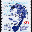 Постер, плакат: Postage stamp Germany 1994 Hans Pfitzner Composer and Conductor