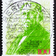 Stock Photo: Postage stamp Germany 1994 Theodore Fontane, novelist and poet
