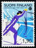 Poštovní známky finska 1989 kříž county lyžování — Stock fotografie