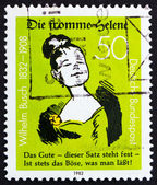 Postage stamp Germany 1982 Die Fromme Helene, by Wilhelm Busch — Stock Photo