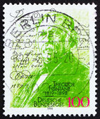 Postage stamp Germany 1994 Theodore Fontane, novelist and poet — Stock Photo