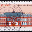 Stock Photo: Postage stamp Germany 1990 Thurn and Taxis Palace