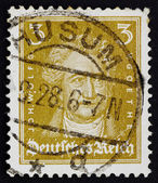 Postage stamp Germany 1926 Johann Wolfgang von Goethe — Stock Photo