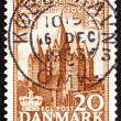 Postage stamp Denmark 1953 The Church of Our Lady, Kalundborg - ストック写真