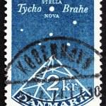 Postage stamp Denmark 1973 Sextant, Stella Nova, Tyho Brahe — Stock Photo #8588060