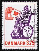 List miłosny dania 1992 znaczków, przez phillip stein jonsson — Zdjęcie stockowe