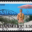 Postage stamp Denmark 1991 Fano, Danish Island - Stock Photo