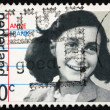 Postage stamp Netherlands 1980 Anne Frank, victim of the Holocau — Stock Photo