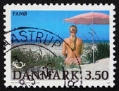 Postage stamp Denmark 1991 Fano, Danish Island — Stock Photo