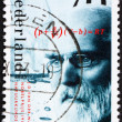 Postage stamp Netherlands 1993 J. D. vder Waals, physicist — стоковое фото #8729118