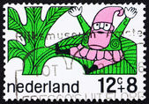 Postage stamp Netherlands 1968 Goblin, Fairy Tale Character — Stock Photo