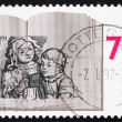 Royalty-Free Stock Photo: Postage stamp Netherlands 1991 Children Reading