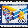 Postage stamp Finland 1967 Double Mortise Corner — Stockfoto