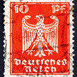 Postage stamp Germany 1923 German Eagle — Stock Photo