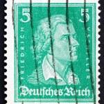 Постер, плакат: Postage stamp Germany 1926 Friedrich von Schiller